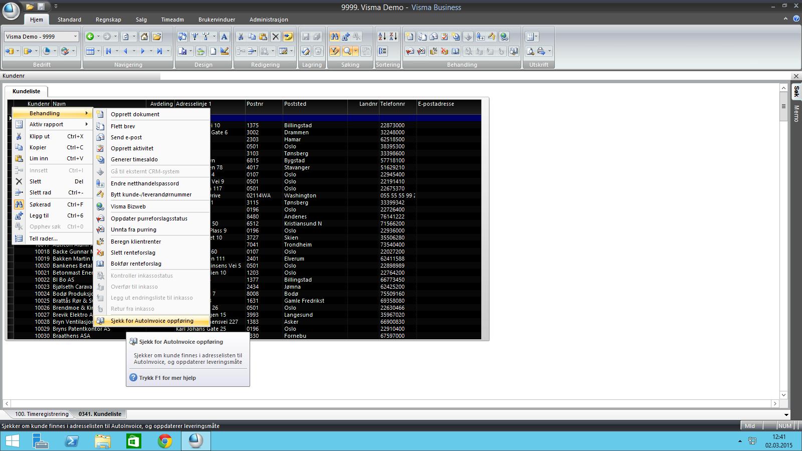 bb13949f VISMA BUSINESS: sjekk om dine kunder kan motta EHF faktura - Abacus IT